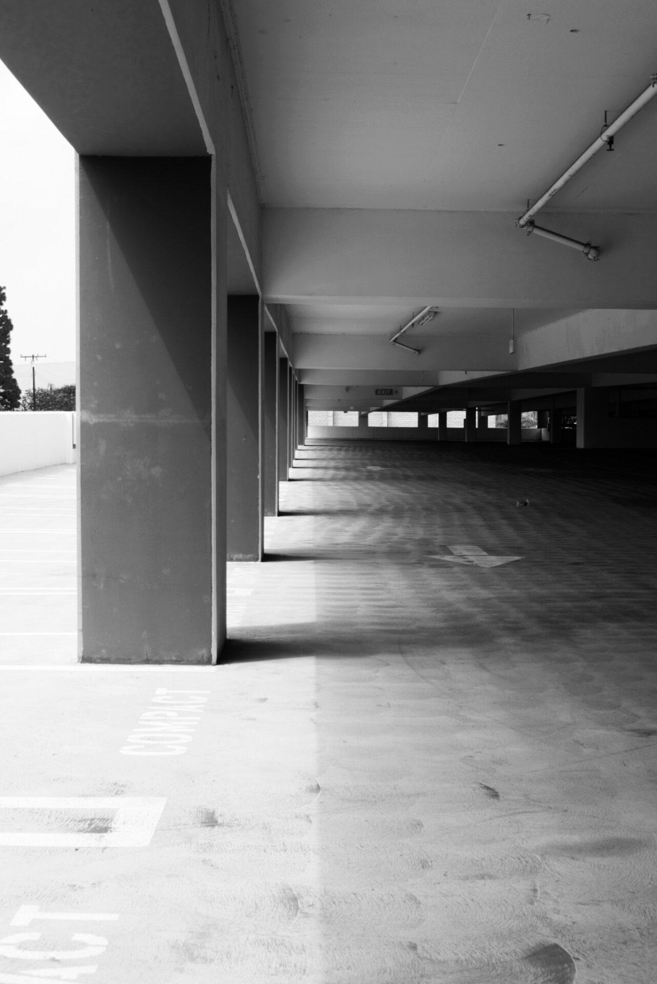 Parking structure photos at EvFree Fullerton 2